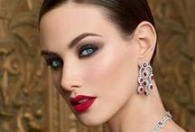 Winter 2014 Color Collection / Sultry shadows create dramatic eyes, radiant blush lights up cheeks and red and berry lip colors look so seductive! / by Merle Norman Cosmetics Inc