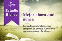 Estudios Bíblicos de LWML / Estudios Bíblicos de la Revista de la Liga Misionera de Damas Luteranas. Gratis para uso personal y en grupo. http://lwml.org/bible-studies/spanish