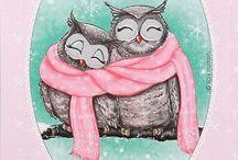 Совушки / Совы, owl