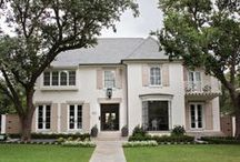 Completed | 3548 Centenary / A gracious Southern home...with a sleek edge.