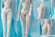 Figuren formen / Skulpturen formen entweder aus Ton oder anderen Materialien