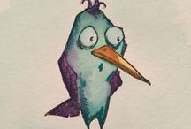 Aa Bird Crazy přáníčka