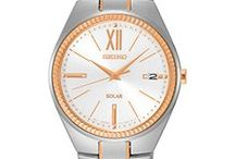 Seiko Style: Rose Gold / Rose Gold Seiko Style - on-trend watches with rose gold accents and highlights