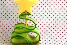 Kerstmis / Leuke ideeën voor gezonde gerechten met kerstmis