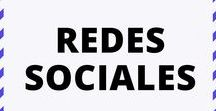 Redes Sociales / Redes Sociales: Facebook, Twitter, Pinterest, Instagram y LinkedIn