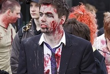 Zombies Roaming Around Town / Shop online for Zombie Costumes: we have the Zombie doctor, the nurse, the Prom, schoolgirl Zombie and more, so check them out.
