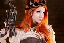 Steampunk Costumes and Accessories / We are thrilled to introduce a number of Steampunk costumes and accessories at Oya Costumes.  This year we have added a number new Steampunk costumes such as the long black duster coat or Steampunk Duster costume. From our other costumes, we are also featuring Victorian era jackets and coats as well as Western style costumes and accessories such as boot top Spats.
