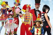 Clown / Clown around this Halloween in a Clown Costume. Looking for Clown Halloween Costumes? Chose between funny, evil and scary clowns for kids and adult.