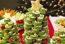 Christmas Appetizer Ideas / The ULTIMATE Christmas appetizer and dip recipe source! Host the most magical Christmas party ever with these amazing Christmas appetizers.