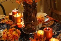 Thanksgiving Decorating Ideas / Thanksgiving is a season of beauty with the colorful fall colors. We hope this Thanksgiving Decorating board will help you and your family create a beautiful home to celebrate this most wonderful time of year.