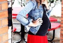 Pregnancy Fashion / How to feel and look great while being pregnant! Who says you cant look fabulous while pregnant?