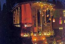 Gypsy Caravans / Something I think many women dream about . . . a nomad's life?