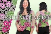 Free Patterns on SheruFashion Channel   / https://www.youtube.com/user/Sherufashion We will inspire you with new styles, designs and ideas of clothing for women, men, children, animals, and also jewelry, items for home decor and much more! Each model is presented with full-color photos and FREE detailed patterns: charts and schematics. Find new beautiful designs made in all possible techniques, FREE easy-to-follow instructions, exciting new crochet and knitting patterns and much more.  / by SHERU Knitting&Fashion