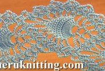Crochet Lace  / Tape lace crochet is one of the most popular, interesting and unusual topics in crocheting. The title of itself says that the projects in this technique are assembled from crocheted tapes. Crochet tapes (ribbons) come in different shapes and lengths. Very often the form of a crocheted tape depends on the motive that was taken as a basic motif which can be any shape.... / by SHERU Knitting&Fashion