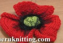 Knitting Flowers / by SHERU Knitting&Fashion