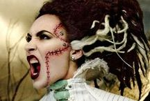 Halloween Make Up / Spooky and fun Halloween make up ideas and products by Oya Costumes!