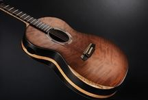 """David Antony Reid Guitars - One of 8 Dream Guitars of The World, Acoustic Guitar Magazine. / Here you can view many images of what Acoustic Guitar Magazine regards as One of """"8 Dream Guitars of The World,"""" and Guitarist Magazine regards as one guitar from their """"Ultimate Guitar Collection"""", by multi award winning luthier, David Antony Reid."""
