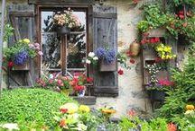 Portes et fenêtres de charme