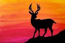 DEERest me! / Deer, antelope,Elk, moose,  pics, invites, projects etc.