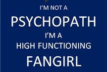 Me and my fandoms!