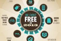 Money Saving Infographics  / Top money saving infographics from Pinterest!