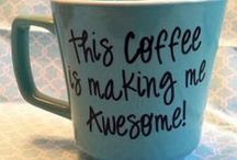 Coffee Defines Me / I love coffee, I hope you do to cause this board is filled with that addictive drug! :)