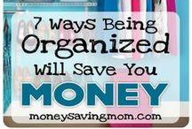 Keeping Things Organised / How to keep things organised around the house.