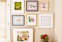 Wall Decorations / Some amazing wall deco that inspires me to... pin them!? :)