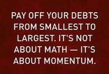 Getting Rid Of Debt / Phew, finally!