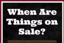 Seasonal Saving Tips / Money saving tips for Christmas, Valentines, Halloween etc..