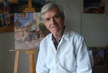 Joan Pauló / www.joanpaulo.cat - Joan Paloma Roura - Joan Paloma Roura nasqué a Ullastrell el 12 d'octubre de 1943. Tot i que va estar aficionat al dibuix des de petit i va participar en l'elaboració de decorats del Grup Amics del Teatre i va publicar acudits visuals al Ressó Local, no va ser fins als 55 anys que va dibuixar amb més assiduïtat i va començar a ampliar els coneixements artístics amb el professor Gabriel Verderi. Posteriorment amb Magdalena Salazar i amb l'artista internacional Joseo.