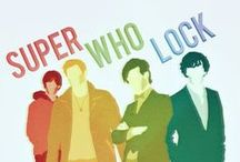 SuperWhoLock / This is the best crossover I've ever seen and I really hope it can be a thing!