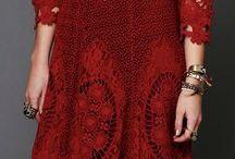 Crochet blouses ,skirts,dresses,shawls