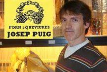 """Forn Josep Puig - """"Cal Correu"""" / Forn i Queviures Josep Puig és una empresa familiar dedicada a l'elaboració artesana de tota mena de pans, coques i d'altres especialitats de brioixeria i pastisseria."""