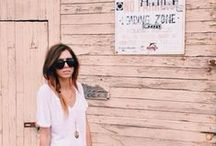 Travel Style / Comfy, cute, casual, chic.  Clothes for whatever mood strikes when I'm on the go!