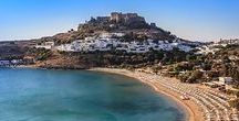 Rhodes // Greece / Rhodes Is An Island Which Accommodates A Number Of Historical Sites As Well As Fascinating Beaches And Natural Sceneries