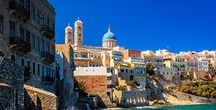 Syros // Greece / Syros Is The Capital Island Of Cyclades And The South Region Of The Aegean And Has Been Characterized As The «Elegant Lady Of The Aegean»