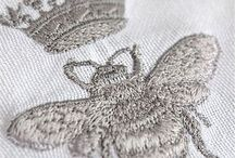 Pillows & Handmade Embroidery / Silk, ribbon, embroidery, dentelle: old linen turn into pillows