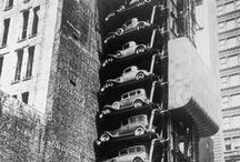 1920-1976: Vertical parking / A different kind of parallel parking
