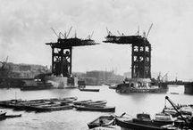 1881-1895: Building Tower Bridge / A London bridge, going up.