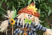 Scarecrow/ Variksenpelätin / Tuunaa linnunpelätin marjoja vartioimaan.