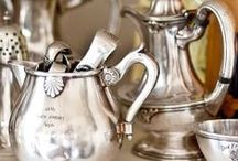 Vintage silver / Love old silver.