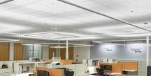 Office Lighting / Linear LED lighting for contemporary commercial office spaces.
