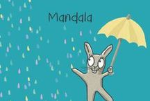 Mandala / Hier gibt es gesammle Indisches Symbole als Meditationshilfe und schmückes Bild.
