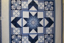 Blue and White Quilts / by Sherryl likes Stuff