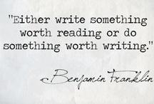 Writing 'n' Books / by Sam Cat