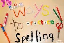 RT Spelling / Spellinghulpkaarten, spelletjes, apps..... Binnenkort ga ik ze sorteren!  / by Dorine Kuijer