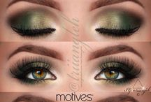 Eye makeup / Eye make-up is infinite. Just get some eyeshadow and create the most gorgeous creations!