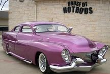 "It ain't easy bein' ""Pinky"" / The life of Pinky, our 1949 Mercury Custom George Barris winner... ain't she a beauty?"