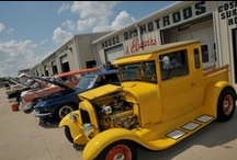 Our House / Take a look at our 9 acre facility in Mansfield, TX! We are literally a one - stop - shop. We do it all, and then some. Call for custom fabrication, repair, restoration, interior, powder coating, or even to build your dream car from scratch. 817.466.9942 http://txhouseofhotrods.com http://facebook.com/txhouseofhotrods